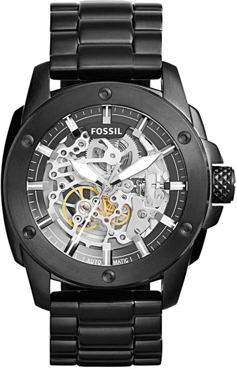 Fossil Modern Machine Automatic Me3082 Original Garansi Resmi watchismo times new fossil mechanical watches these skeletons to your bones