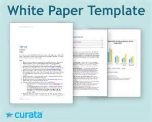 whitepaper template tools white paper template curata
