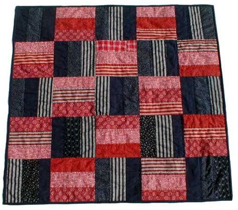 Fence Rail Quilt Pattern by Rail Fence Quilt Patterns 171 Free Patterns