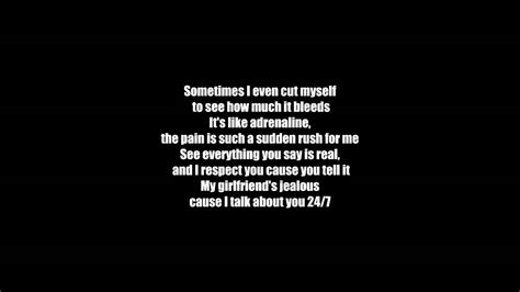 eminem stan lyrics eminem stan ft dido lyrics hd youtube