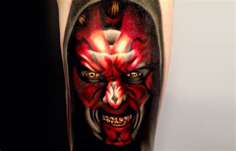 darth maul tattoo design 70 wars tattoos