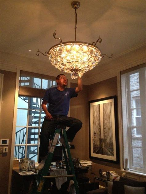 Chandelier Cleaning Services Chandelier Cleaning Manhattan Expert Lighting Inc 917 586 9008