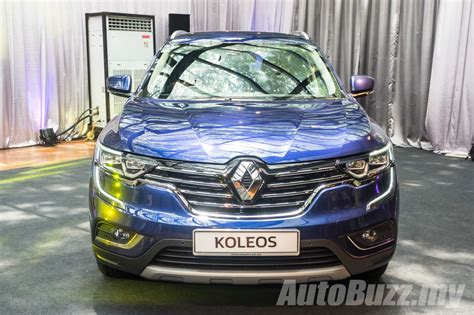 renault malaysia 2016 renault koleos 2 5l launched in malaysia priced at