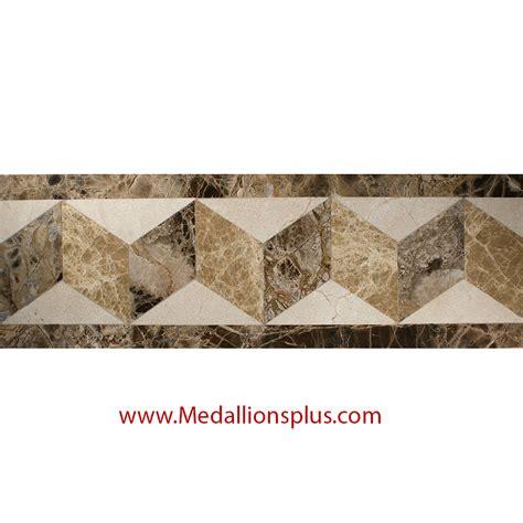 decorative tile borders waterjet tile borders design 13 medallionsplus