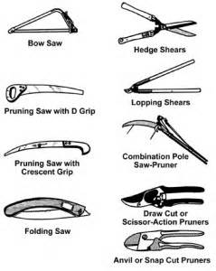 Types Of Garden Tools And Their Uses - how to choose pruning tools mcshanesnursery