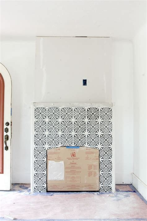 cement fireplace surround 25 best ideas about fireplace tile surround on