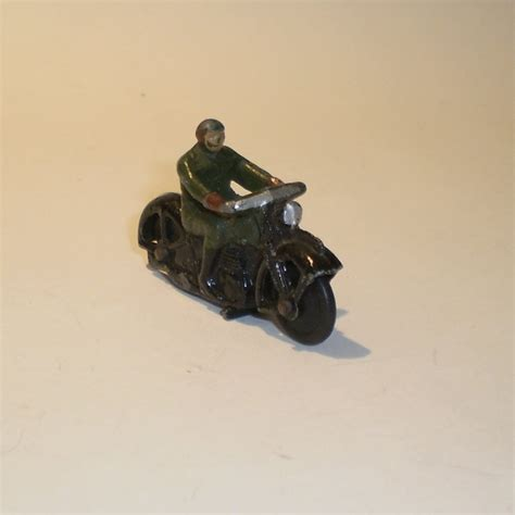 Wood Collection Motor Rider dinky motorcycles tonys toys