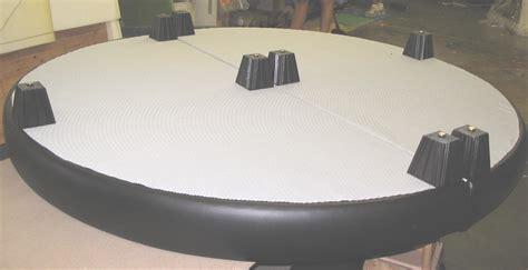 round bed frame round mattress platform set