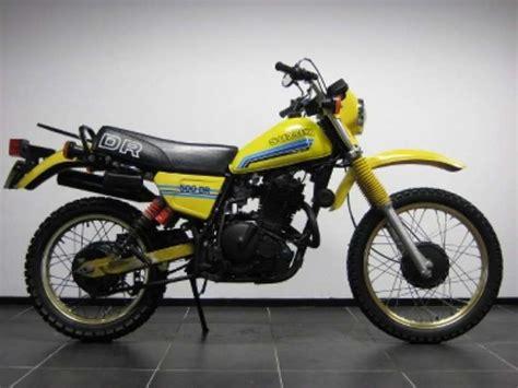 Suzuki Dr500 1981 Suzuki Dr 500 S Pics Specs And Information