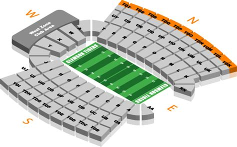 clemson seating chart valley ticket office seating charts