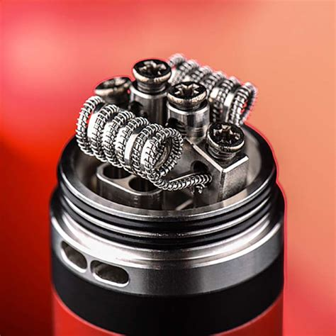 Rda Vape Lush Plus Silver 24mm By Wotofo Authentic wotofo lush plus rda black and silver