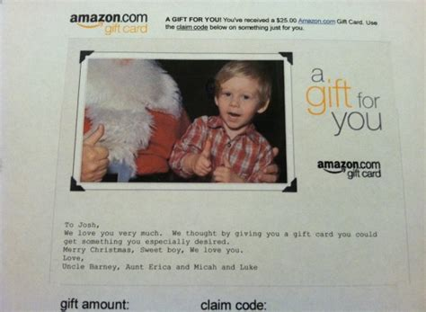 Custom Amazon Gift Cards - still need a gift print or email an amazon gift card in 1 minute and more