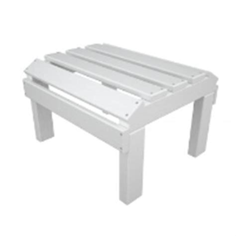 plastic ottoman the office leader polywood adirondack ot20 outdoor