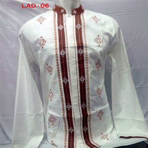 Baju Muslim Pria Warna Putih 12 Warna Baju Koko Model 2016 Terbaru Lengan Panjang