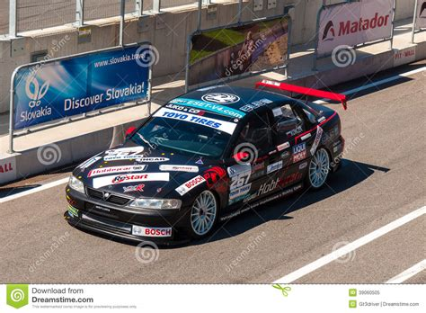 opel race car opel vectra race car editorial image image 39060505