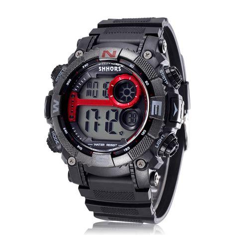 sport digital led mens watches clock 3atm waterproof dive