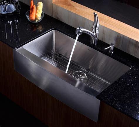 36 kitchen sink kraus khf20036 36 inch farmhouse apron single bowl kitchen