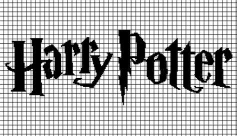 harry potter knitting charts harrypotter05 260x150grid