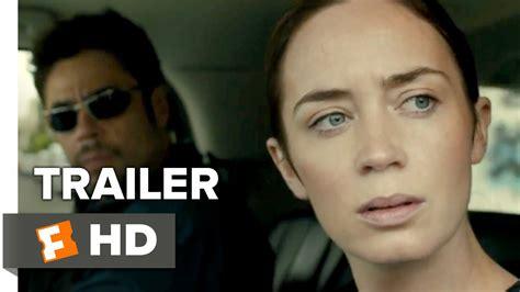 emily blunt trailer sicario trailer 2 2015 emily blunt benicio del toro