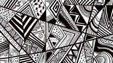 wallpaper vector black and white black and white doodle wallpaper vector wallpapers 23874