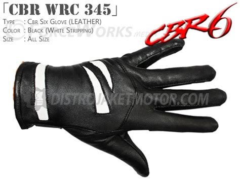 Grosir Sarung Tangan Kulit sarung tangan kulit cbr six distrojaketmotor