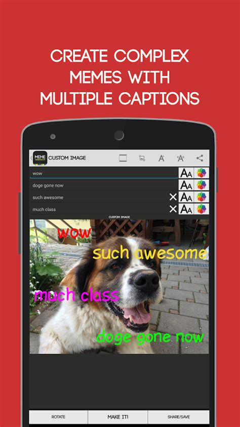 How To Make Memes App - meme generator free android apps on google play