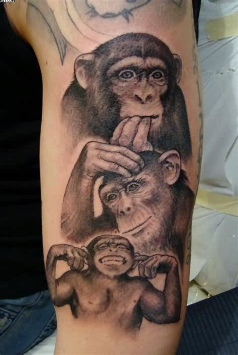 evil monkey tattoo designs monkey tattoos designs ideas and meaning tattoos for you