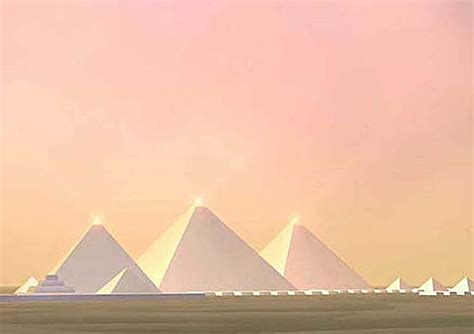 Piramid White where is the capstone of the great pyramid otherworld