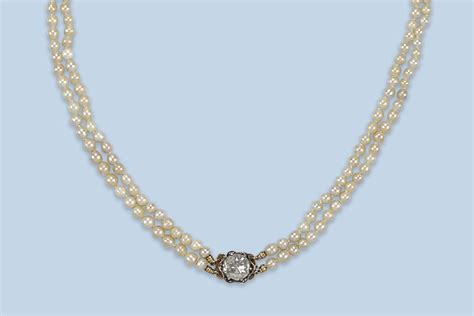 antike dielen an antique pearl and necklace jewelry