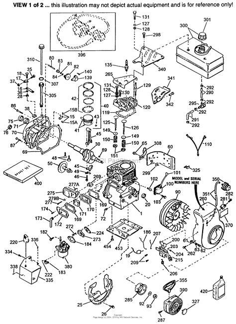 tecumseh parts diagram tecumseh hsk70 130296t parts diagram for engine parts list 1