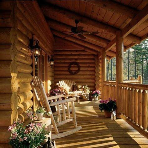 log cabin front porch swing log cabin love pinterest love this porch log cabin lodge pinterest