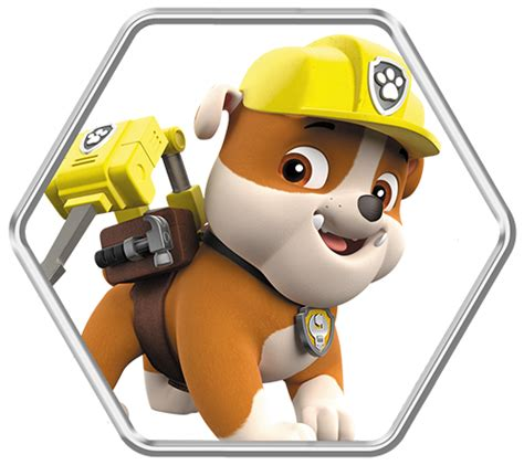 paw patrol party rubble png pictures to pin on pinterest mega colecci 243 n de im 225 genes de paw patrol im 225 genes para