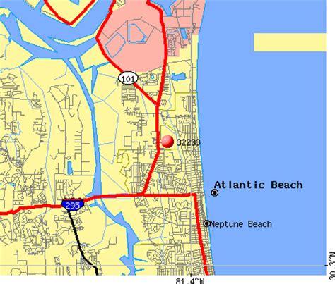zip code map jacksonville beach fl jacksonville fl zip code map free