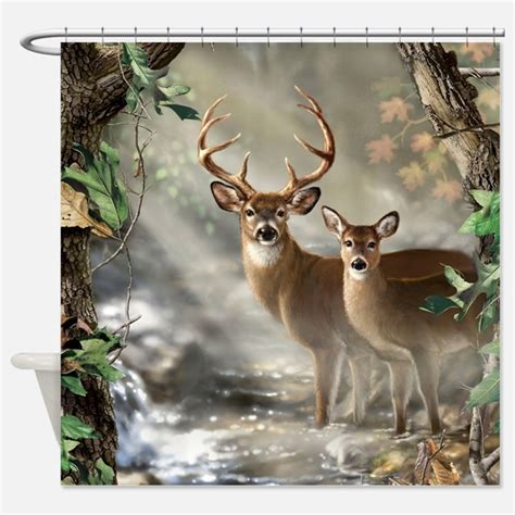 deer shower curtain deer shower curtains deer fabric shower curtain liner