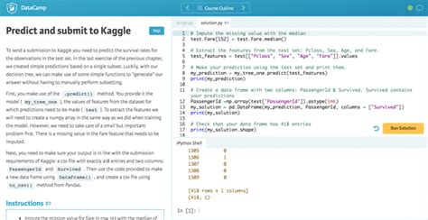 python tutorial how to free kaggle machine learning tutorial for python no free
