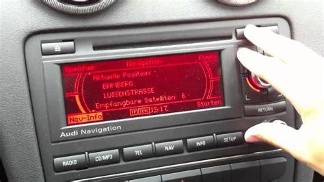 Audi Bns 5 0 Kleines Navi Cd Fach Entsperren Unlock