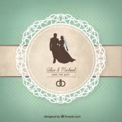 wedding card vector premium