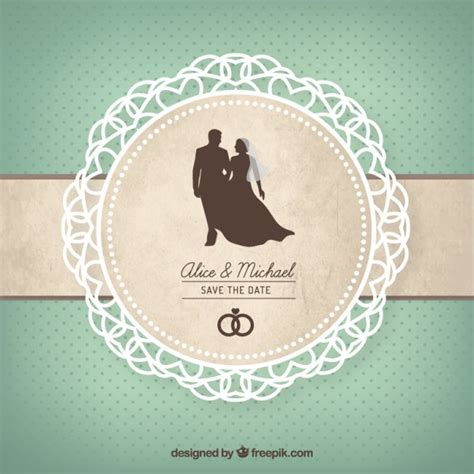 Wedding Card Vector by Wedding Card Vector Premium