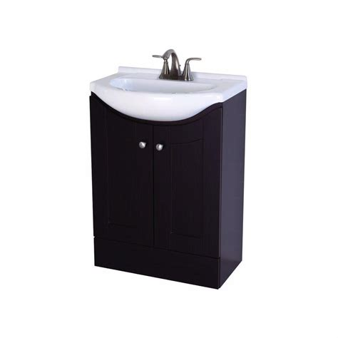 St Paul Bathroom Vanities by St Paul 24 In W Vanity In Espresso With