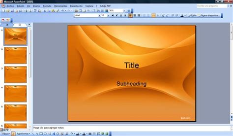 template ppt 2007 free powerpoint template 2007