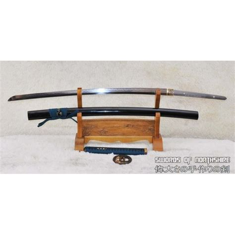 1095 carbon steel 1095 high carbon steel differentially hardened samurai tiger katana sword