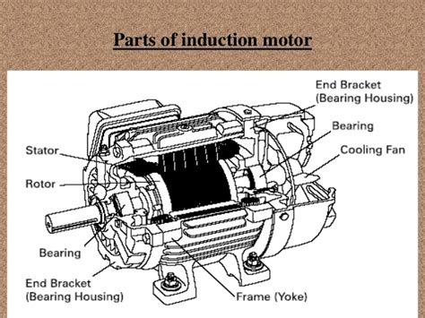 3 phase induction motor parts 3 phase of induction motor 2015 16