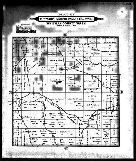 Whitman County Records Myhamiltonfamily Selected Hamilton Family Documents Page 3