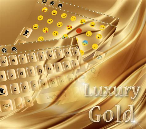 gold love themes luxury gold keyboard theme android apps on google play