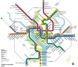 Dc Map With Metro Stops by Washington Dc Metro Rail Stations C21redwood