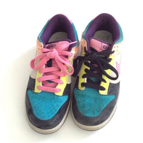 multi colored nike shoes 88 nike shoes nike 6 0 multi colored sneakers from