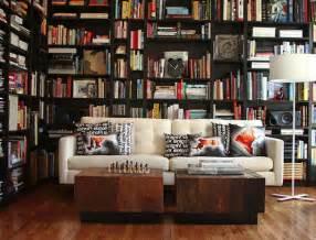 Modern Home Library Interior Design Cozy Library Designs For Your Residences Decor Advisor