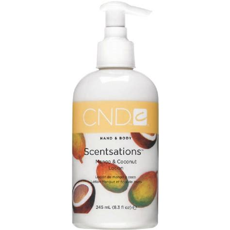Cnd 181 by Cnd 181 Cnd Scentsations Mango Coconut Lotion 245 Ml 181