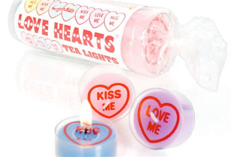 candele san valentino mini candele con cuore per san valentino dottorgadget