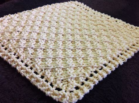 how to knit cotton dishcloths 177 best images about knitting blankets dishcloths